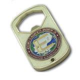 Étiquette de crabot d'imitation personnalisée d'argent d'or de diamant