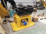 Cat320를 위한 굴착기 도로 쓰레기 압축 분쇄기 격판덮개