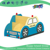 Schule-hölzernes Polizeiwagen-Modell-Kombinations-Buch-Regal (HG-6012)