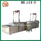 Poulet continu électrique automatique cuisant la machine à la friteuse