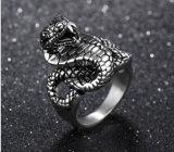 Nueva serpiente de anillo de la joyería del dedo de la llegada para la joyería de la manera del regalo del partido del hombre de las mujeres