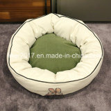 Base redonda do animal de estimação do gato do cão do algodão do OEM da fábrica