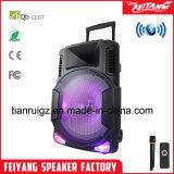 Casella ricaricabile attiva Fg-12 dell'altoparlante del carrello di Bluetooth dell'altoparlante del DJ dei nuovi prodotti
