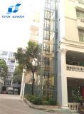 Toyon besichtigenhöhenruder und Handelsaufzug für Glasspiegel
