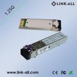 20km 1.25GB/S는 싱글모드 SFP 광학적인 송수신기 섬유 이중으로 한다