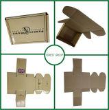 Petite boîte au détail de l'emballage verni UV de nouvelles boîtes d'emballage de vente au détail