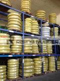 Fil hydraulique des constructeurs En853 1sn 2sn /SAE 100 R1 R2 de boyau tressé et boyau hydraulique de Fitings