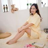 高品質の新しいデザイン綿のワッフルの浴衣/パジャマ/Nightwear