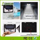 39 5W LED de color Negro Caja de plástico resistente al agua un sensor de movimiento de la luz solar LED
