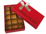 Настраиваемые вручную квадратных жесткая бумага шоколад в салоне с сеткой штамповка