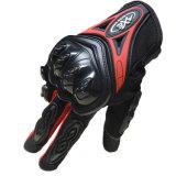 Motocicleta a prueba de viento impermeable de la pantalla táctil del invierno Fgv012 que compite con guantes del deporte
