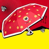 2018 جديدة [كرتوون شركتر] [أنتي-وف] [بربلوي] نساء مطر مظلة مصغّرة مظلة يطوي جدية مظلة رجال [سون] مطر ترك شمسية