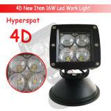 indicatore luminoso del lavoro di 4D IP67 LED per i camion SUV Atvs delle automobili