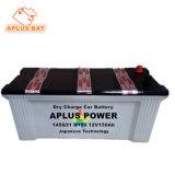 12V150ah заводская цена автомобильных сухой зарядки аккумуляторной батареи автомобиля N150 145g51