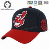 2018 La nueva China Fabricante de gorra de béisbol de sarga de algodón Deporte Hat Gorra de béisbol con Sonic insignia de la soldadura