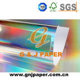Soutenue Gris Hologramme Papier Transfert pour l'emballage en papier métallisé