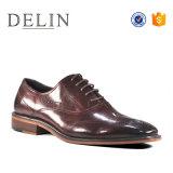2018 мода мужчины обувь из натуральной кожи Красивые мужчины обувь