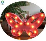 LEIDEN van de Lamp van de Nacht van de Modellering van de vlinder Licht voor Decoratie