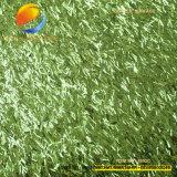 Couro sintético do plutônio do Glitter agradável do teste padrão da sapata