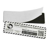 De het programmeerbare Etiket/Sticker van het anti-Metaal NFC van Url Ntag213/Ntag216