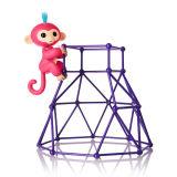 Fingerlings игрушки перста взаимодействующей обезьяны младенца франтовской новые