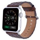 Tira de relógio de pulso de couro novo estilo de corda de couro genuíno cinta de relógio de pulso 20mm 22mm