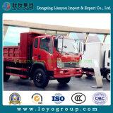 Sinotruk Cdw 16 톤 빛 덤프 트럭 팁 주는 사람 트럭