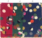 Tissu de cravate de configuration de points d'impression de coton