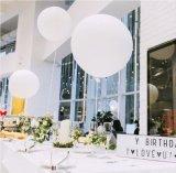De opblaasbare Ballon van het Latex van de Cirkel van 36 Duim Grote Ronde voor de Partij van het Huwelijk