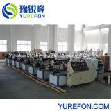 tubo de PVC 110-250mm tubo plástico da linha de produção da máquina extrusora
