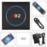 I92 bricht androides IPTV Fernsehapparat-Kasten-Felsen-Chip Rk3229 1GB DDR 8GB Emmc4K mit Netflix 2.4G WiFi Fernsehapparat-Kasten Media Player ab