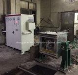 Forno de fusão por indução para fundição de ferro 150kg 160 kw