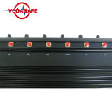 Fernsteuerungshemmer-Blocker für Hemmer 2g+3G+2.4G+4G+GPS+Lojack, 12 Antennen TischplattenSiganl Hemmer-Blocker