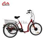 Triciclo eléctrico nuevo diseño más elegante de la estructura de acero eléctrico Trike Hi-Ten desde Hangzhou Monca