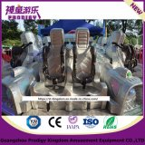 Space Themed Cool Flying Disco music Wrinkles Outdoor Playground for Carnival