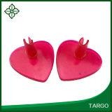 В форме сердечка сандалии ноги флоп в передней части блока опрокидывания сепаратора