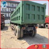 販売のための12wheelsによって使用されるHOWO頑丈なSinotruk 40tonのダンプトラック