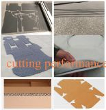 Gewebe-Leder-Ausschnitt-Maschine Kleid-Kleid-Gewebeautomatische CNC-Digital