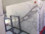 Salle de bains de haute qualité des revêtements de sol en marbre blanc Statuario de conception pour la vente