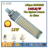 12W 120 Graus LED de iluminação de ilustrações Lâmpada Horizontal com controlador isolado