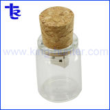 Печать дрейфующих стеклянную бутылку Корк USB флэш-памяти Memory Stick™