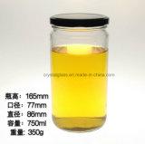 Neue heiße Form-rüttelt ökonomisches Nahrungsmittelspeicher-Maurer-Glas 750ml