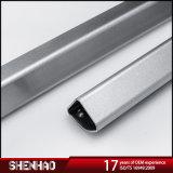 Coche de aluminio de alta calidad los raíles de techo en color plata
