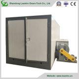 Praktisches hohe Leistungsfähigkeits-ökonomisches industrielles Puder, das Heißluft-trocknende Maschine beschichtet