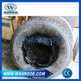 Überschüssiges hölzernes Metall gesponnener Beutel-Gummireifen-Reifen, der Reißwolf-Maschine aufbereitet