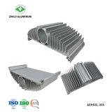 Het Profiel van het aluminium voor Heatsink met het Anodiseren & CNC het Machinaal bewerken