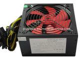 Alimentazione elettrica nera ricoprente di 300W ATX con il ventilatore di 12cm