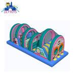Terrain de jeux pour enfants gonflable durables, gonflable Bouncing château avec Safe Net, Trampoline gonflable Fun Park