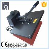 Stampatrice piana di scambio di calore della macchina di scambio di calore della copertura superiore di calore della maglietta 40*60 della macchina piana della pressa