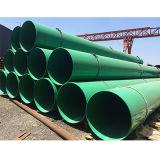 Buen anti corrosión de tuberías de agua de alcantarillado de GRP FRP